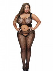 BACI BODYSTOCKING JUODA MODEL 50008-37
