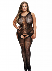BACI BODYSTOCKING JUODA MODEL 50008-42